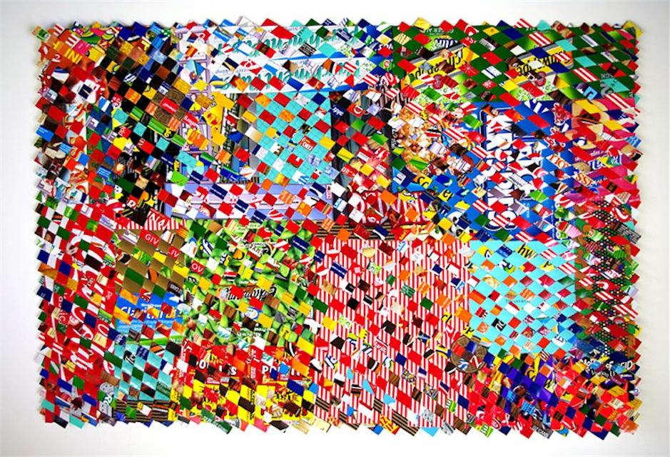 Haller, paper construct, 24x38
