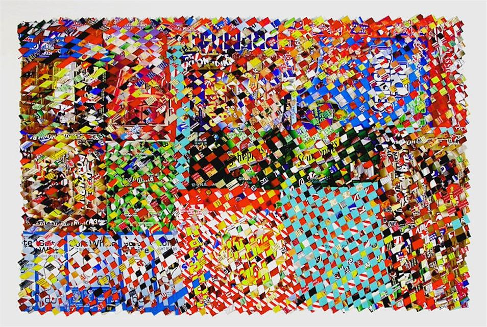 Stouffers, paper construct, 23x37