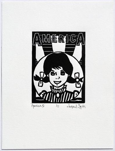 America II, 6x8, relief