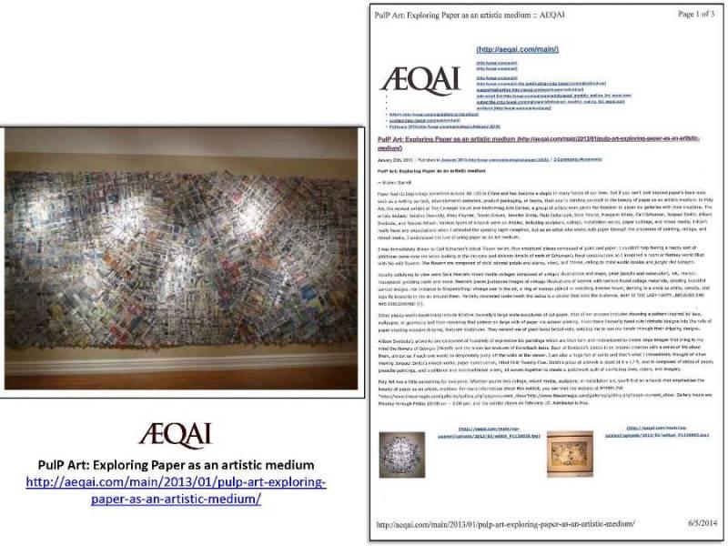 AEQAI Pulp Art Carnegie Convington, KY 2.13