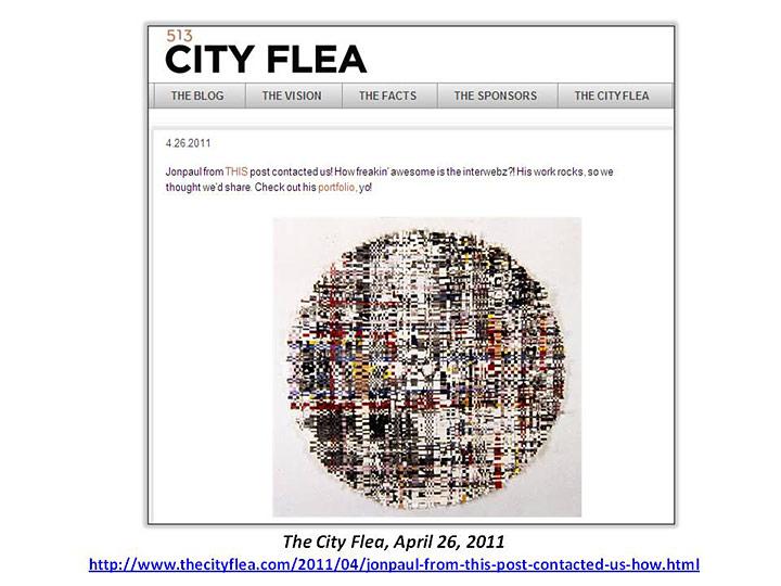 City Flea.com, portfolio
