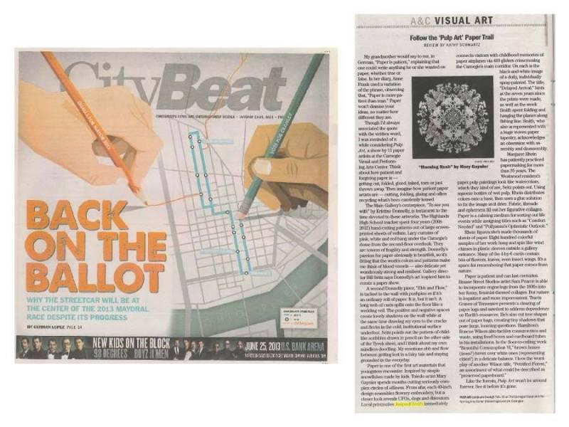 CityBeat Pulp Art Carnegie Convington, KY 2.13