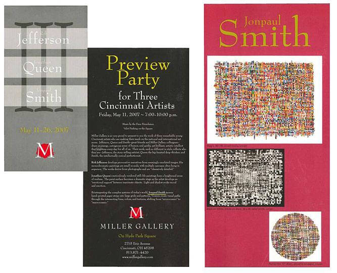 Miller Gallery, Trio, Mailer