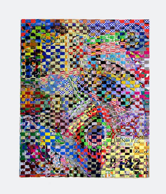 Owen, paper construct, 22x27in